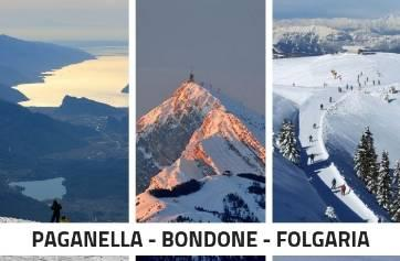 SKIING IN PAGANELLA - BONDONE AND FOLGARIA